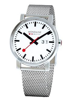 A627.30303.11SBM Evo big date silver mens watch