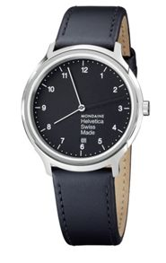 Mondaine MONHEL0001 Mens strap watch