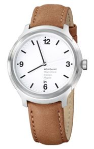 Mondaine MONHEL0010 Mens strap watch