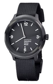 Mondaine MONHEL0009 Mens strap watch