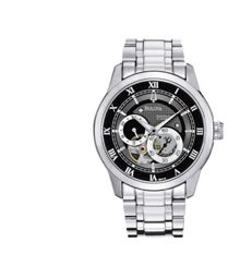 96A119 Mechanical/Auto stainless steel mens watch