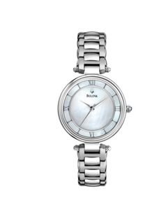 96L185 Dress silver stainless steel ladies watch