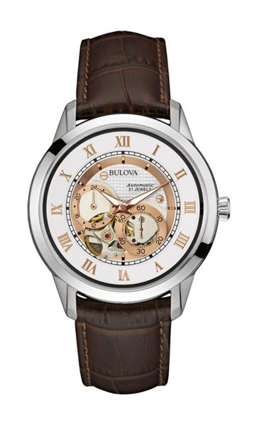 Bulova 96a172 mens strap watch
