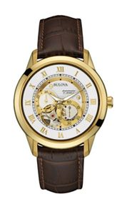 Bulova 97a121 mens strap watch