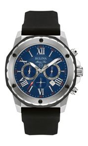 Bulova 98B258 mens strap watch