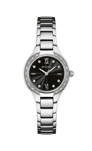 Bulova 96w207 ladies bracelet watch