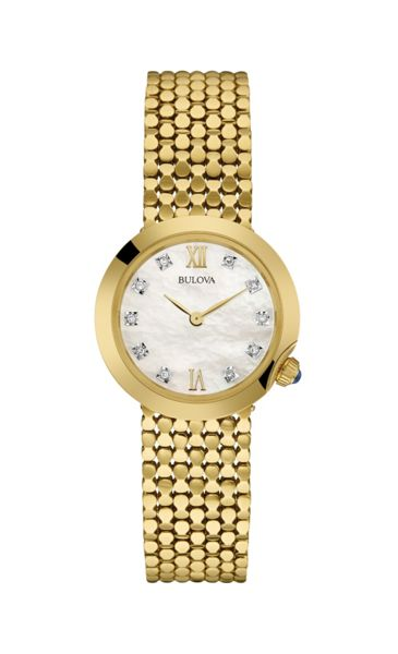 Bulova 97s114 ladies bracelet watch