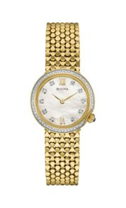 Bulova 98w218 ladies bracelet watch