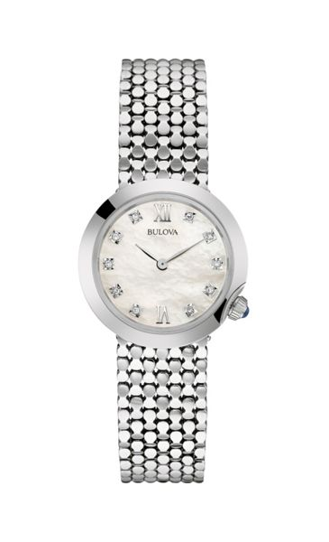 Bulova 96s163 ladies bracelet watch