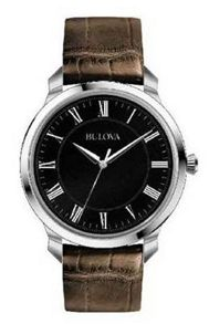 Bulova 96a185 mens strap watch