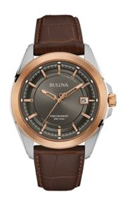 Bulova 98b267 mens strap watch