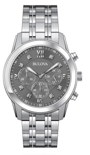 Bulova 96D135 Mens Bracelet Watch