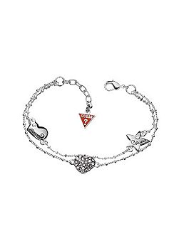 Black Friday Heart & Star Pave Bracelet