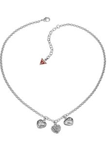 Guess Black Friday Triple Heart Charm Pendant
