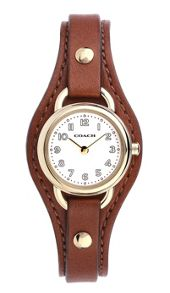 Coach 14502031 ladies strap watch
