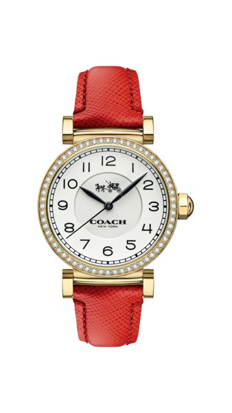 Coach 14502400 ladies strap watch