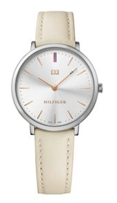 Tommy Hilfiger TH691 ladies beige leather watch