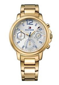 Tommy Hilfiger TH742 ladies gold bracelet watch
