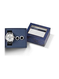TH014 mens leather watch gift set