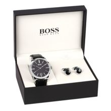 Hugo Boss 1570044 watch & cufflinks gift set