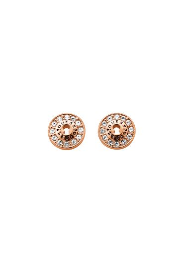 Guess All locked up earrings, Rose Gold