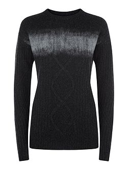 Nadine Cable Knit Sweater