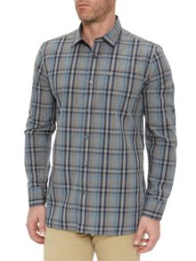 Victorinox Ninety Six Heather Plaid Shirt