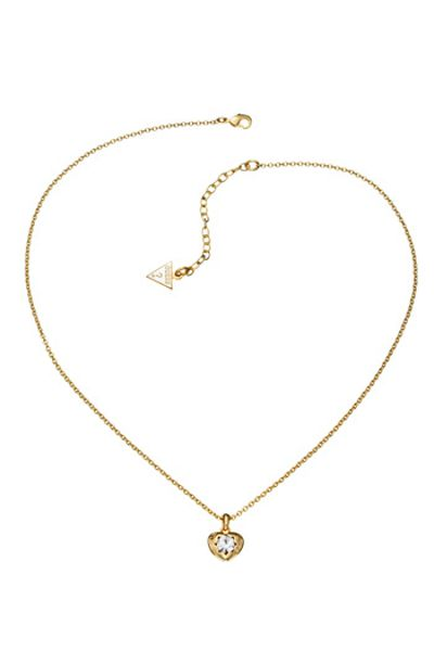 Guess Gold Pendant Necklace