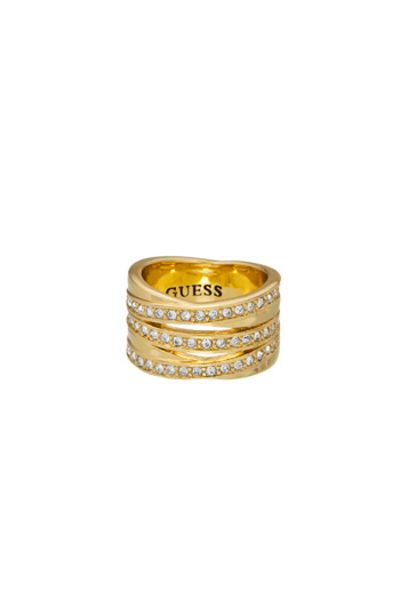 Guess CRYSTAL ETERNITY RING