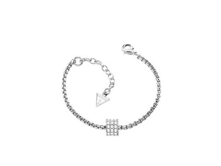 Guess G rounds silver bracelet