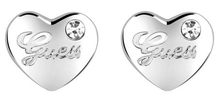 Guess Hearts & roses stone stud earring