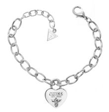 Guess True love padlock heart bracelet