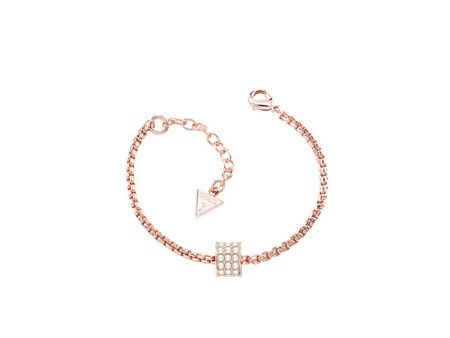 Guess G rounds rose gold bracelet