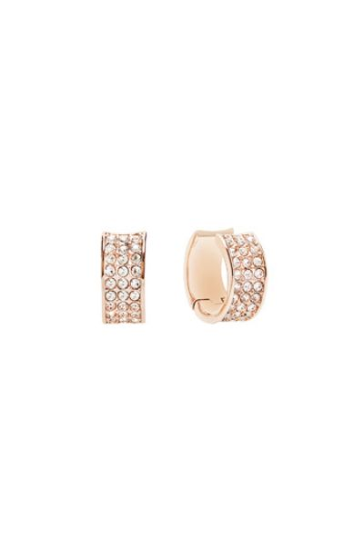 Guess G rounds earrings
