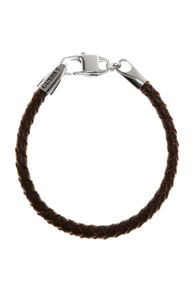 Tough leather bracelet