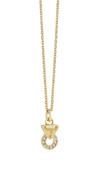 Guess Embrace me mini circle lock pendant