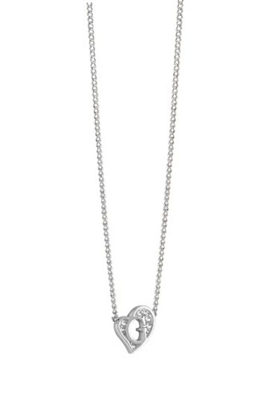 Guess G hearts necklace