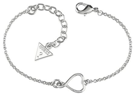 Guess Amour open heart bracelet