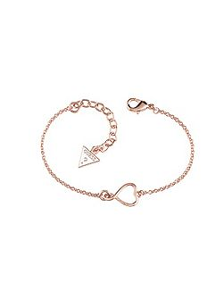 Amour open heart bracelet