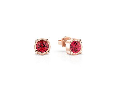 Guess rose gold plated earrings