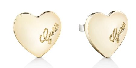 Guess Heartbeat plain stud earring