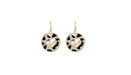 Guess gold plated earrings