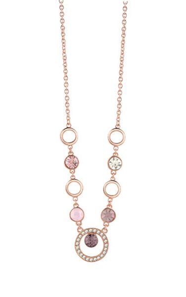 Guess rose gold plated necklace