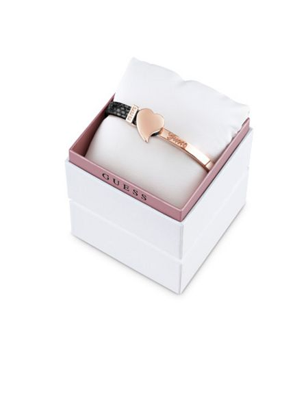 Guess rose gold plated bracelet box set