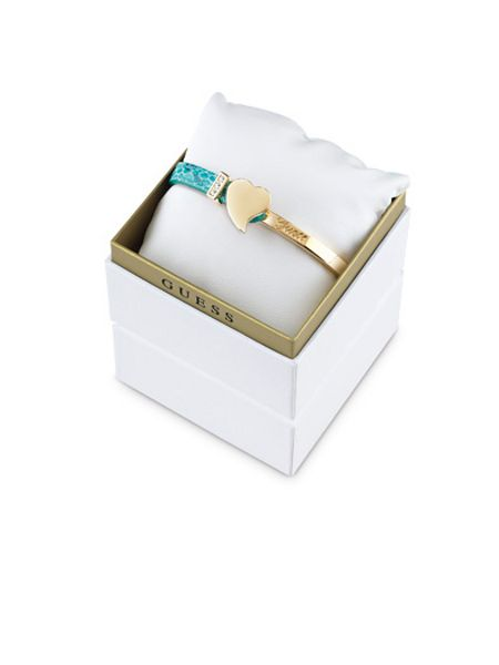 Guess gold plated bracelet box set