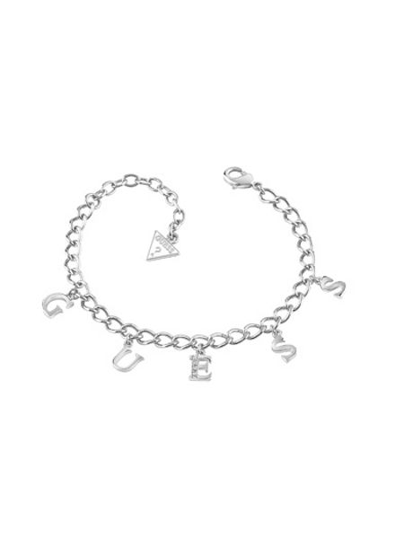 Guess Rhodium plated bracelet