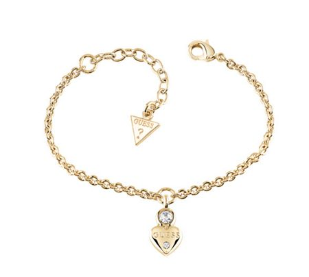 Guess Guessy little heart charm bracelet
