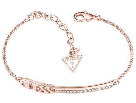 Guess Linear logo bar bracelet