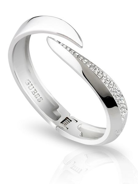 Guess The Crown Pave Statement Bangle