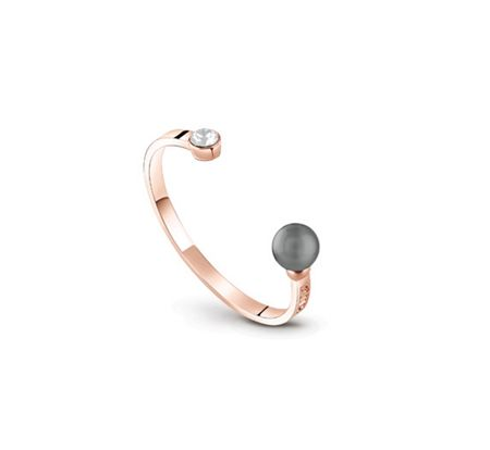 Guess Opposites attraction pearl bangle